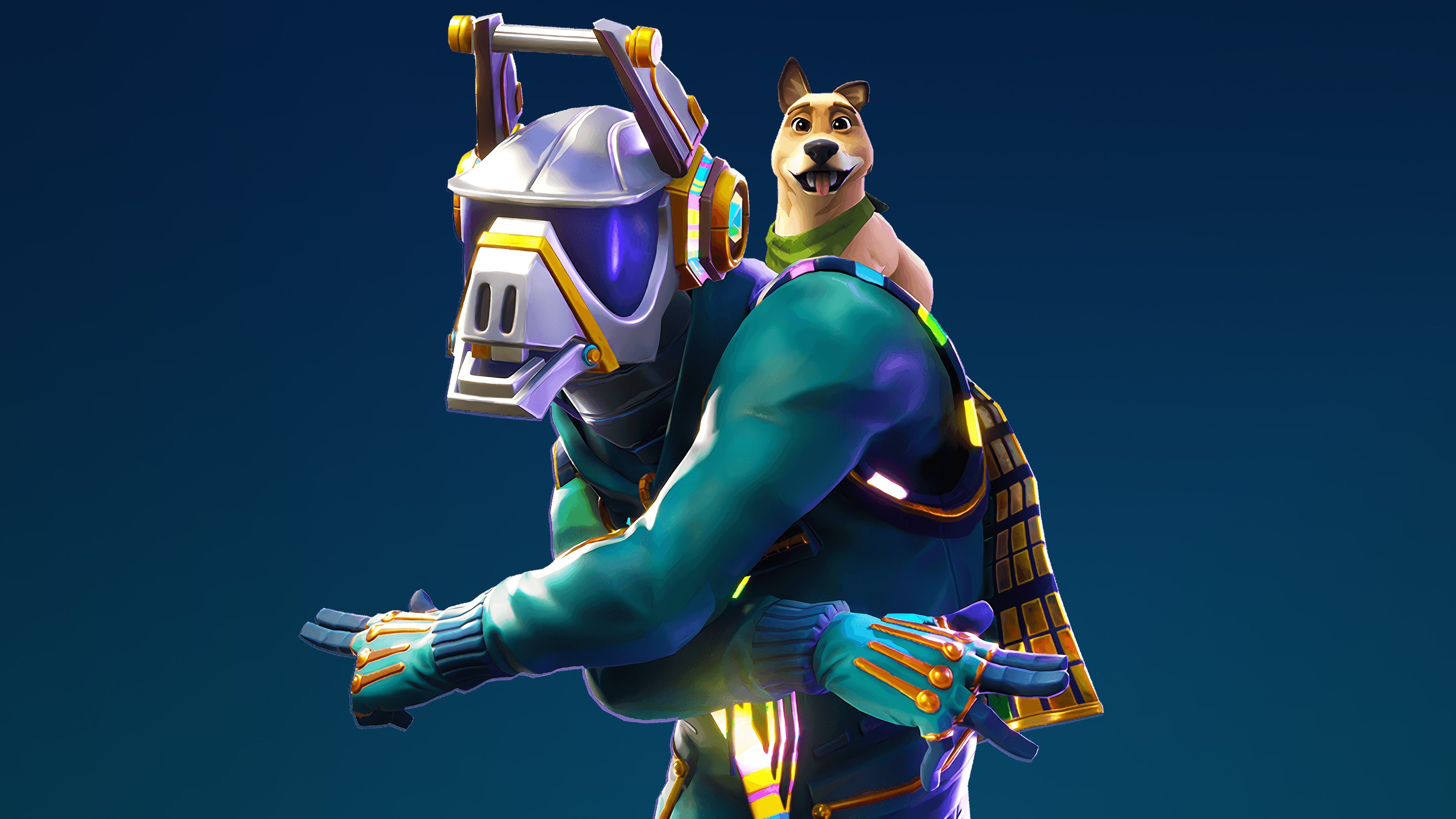 Dj Yonder 4K Wallpaper Fortnite Season 6 4284 Wallpapers and 3840x2160