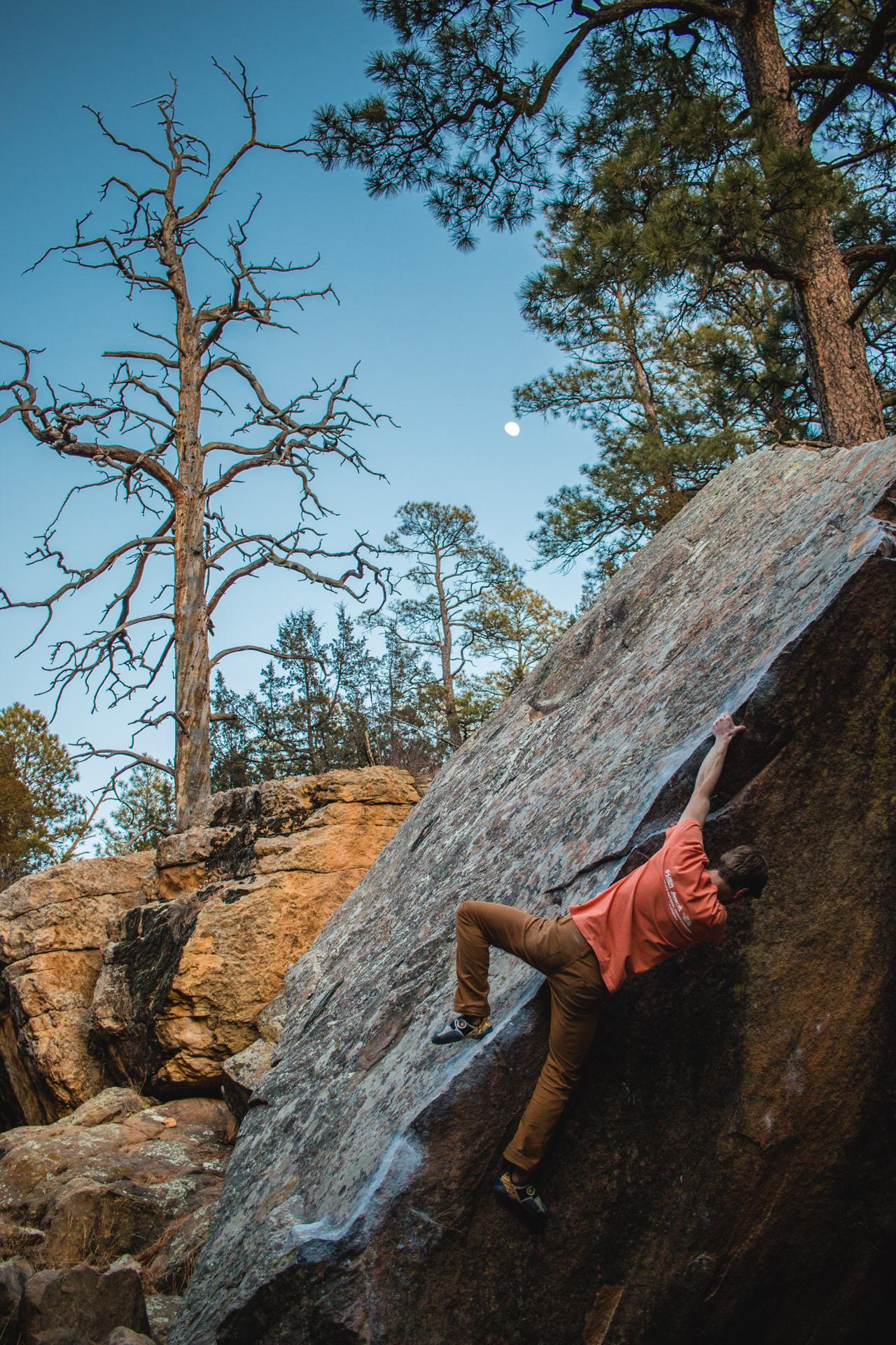 The bouldering in Roy NM is incredible Here is a shot of my 1280x1920