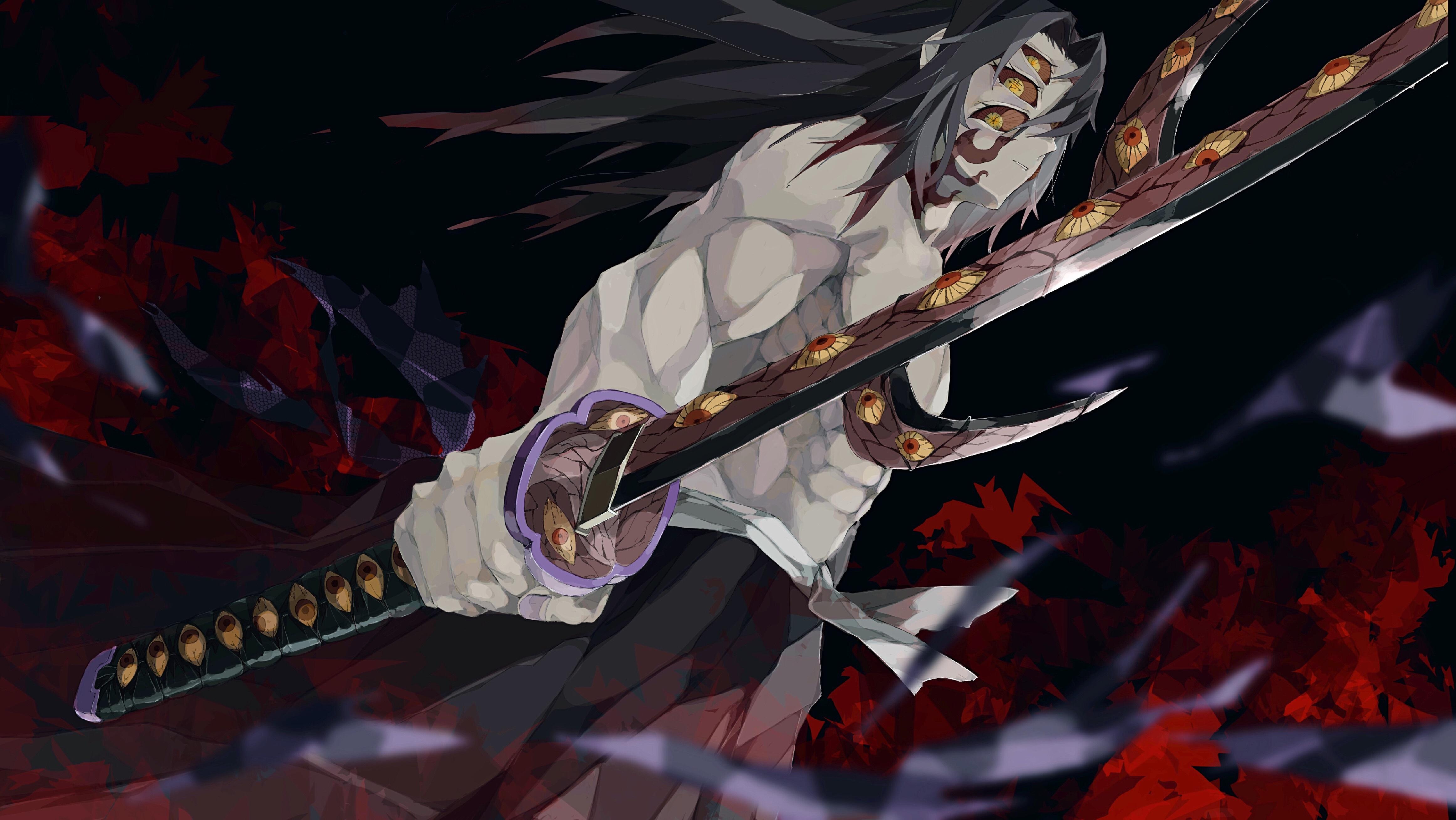 Demon Slayer Kimetsu no Yaiba 4k Ultra HD Wallpaper Background 4648x2621