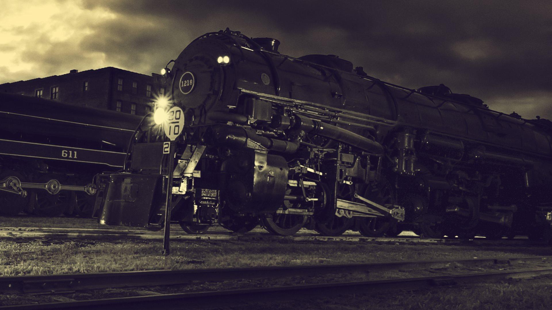 72+ Steam Locomotive Wallpaper on WallpaperSafari