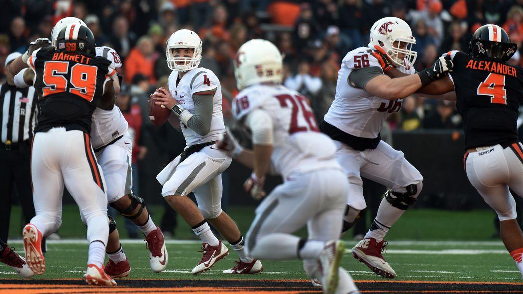 WSU vs Oregon State Luke Falk leads Cougars past Beavers 1050x591