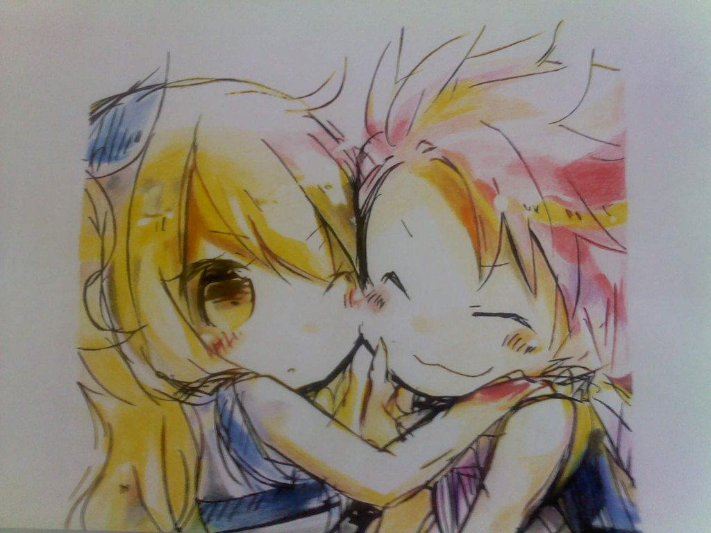 Chibi natsu lucy   151858   High Quality and Resolution Wallpapers 1024x768
