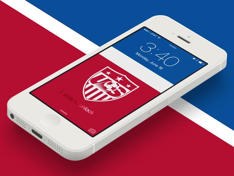 Usa Soccer Logo 2014 Us soccer ios wallpaper made a 800x600