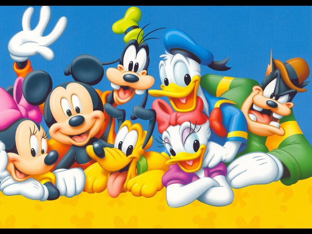 COOL WALLPAPERS Mickey Mouse and Friends Wallpapers 1024x768