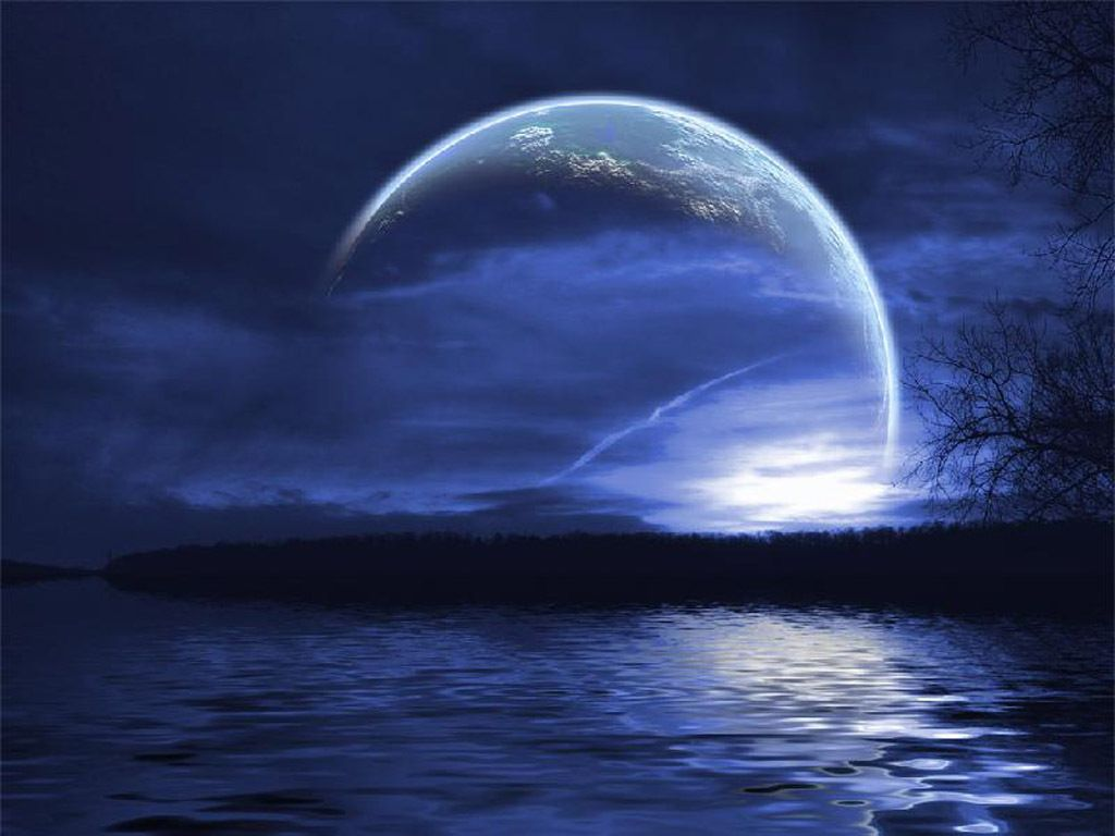 Cool Moon Backgrounds 1024x768