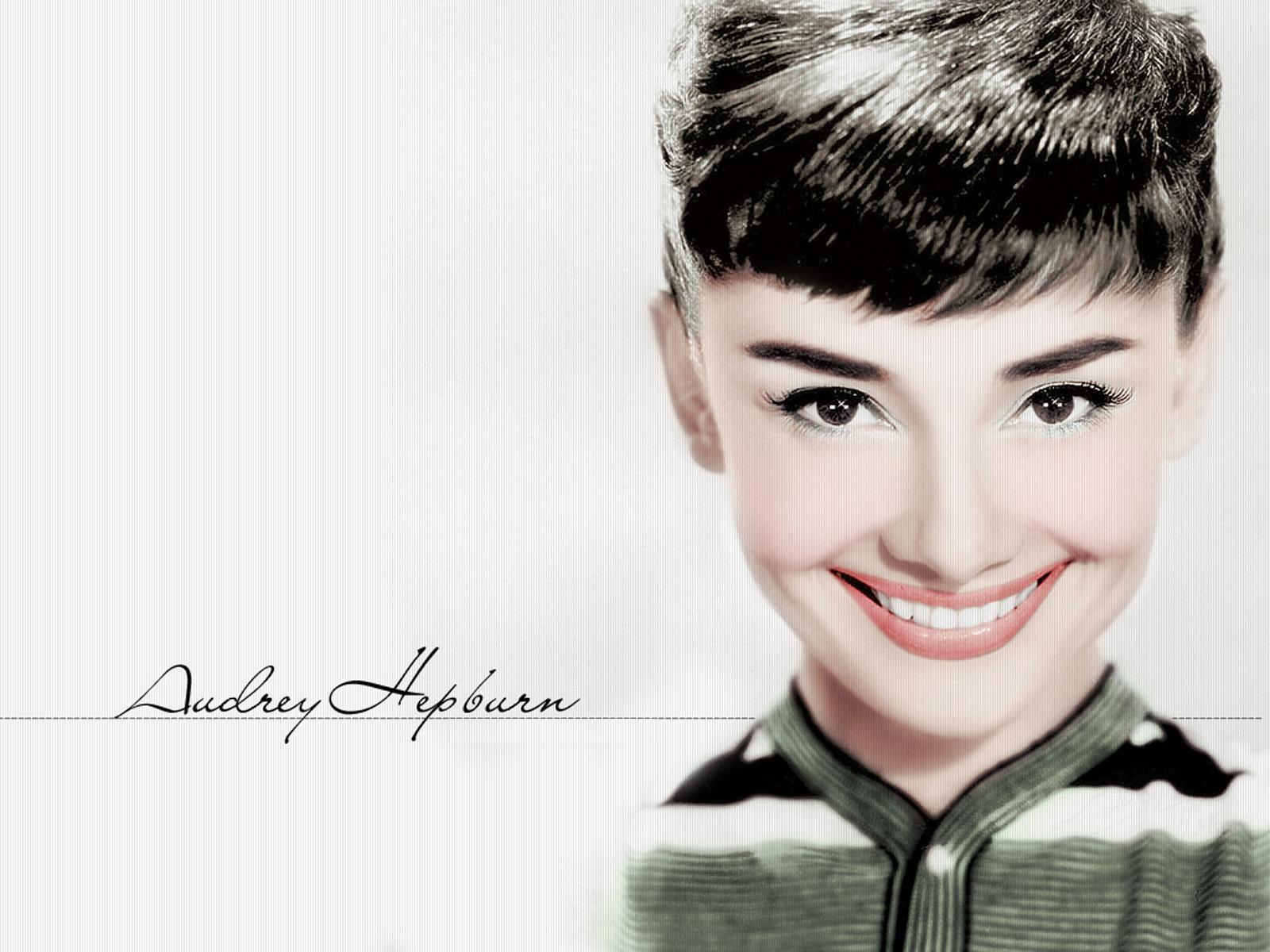 Audrey Hepburn Smile Wallpapers HD 1600x1200