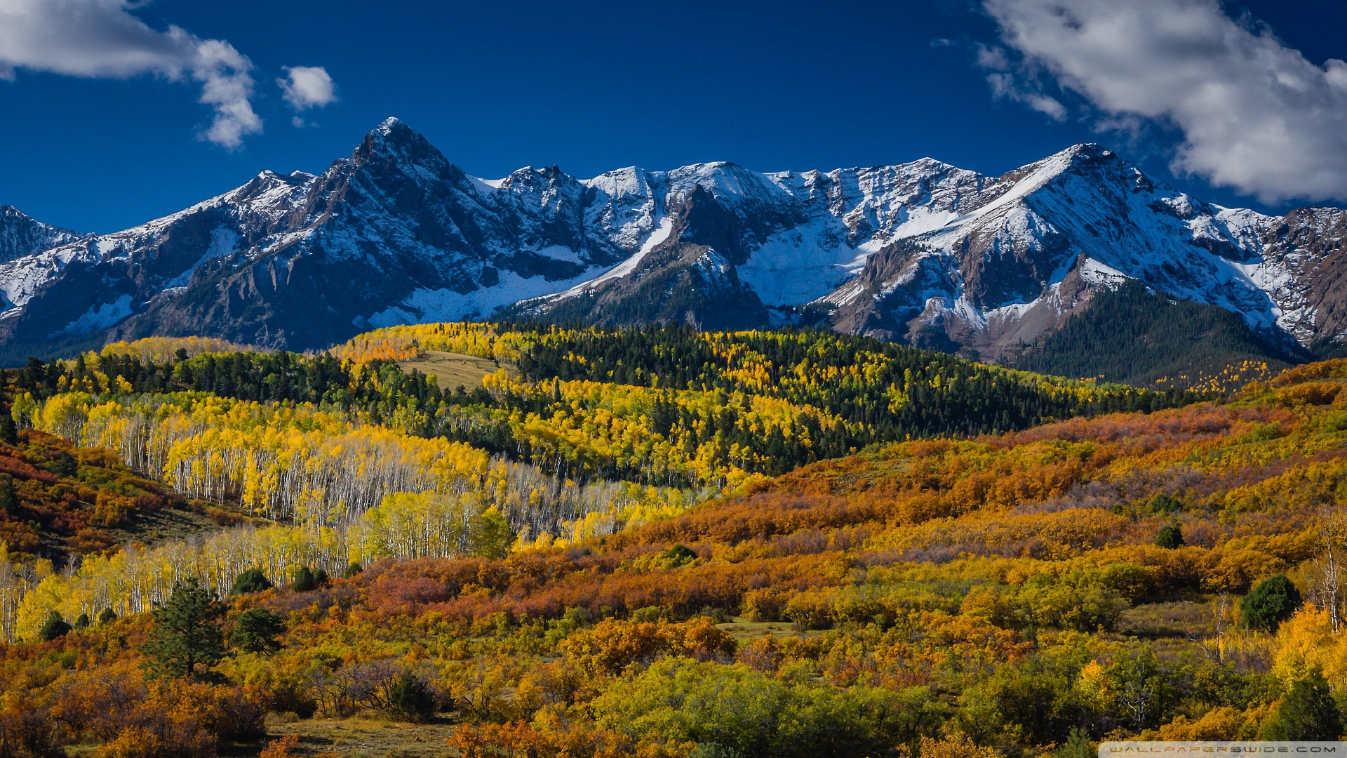 Colorado Wallpaper 1920x1080 Mountain Landscape In Aspen Colorado 1920x1080