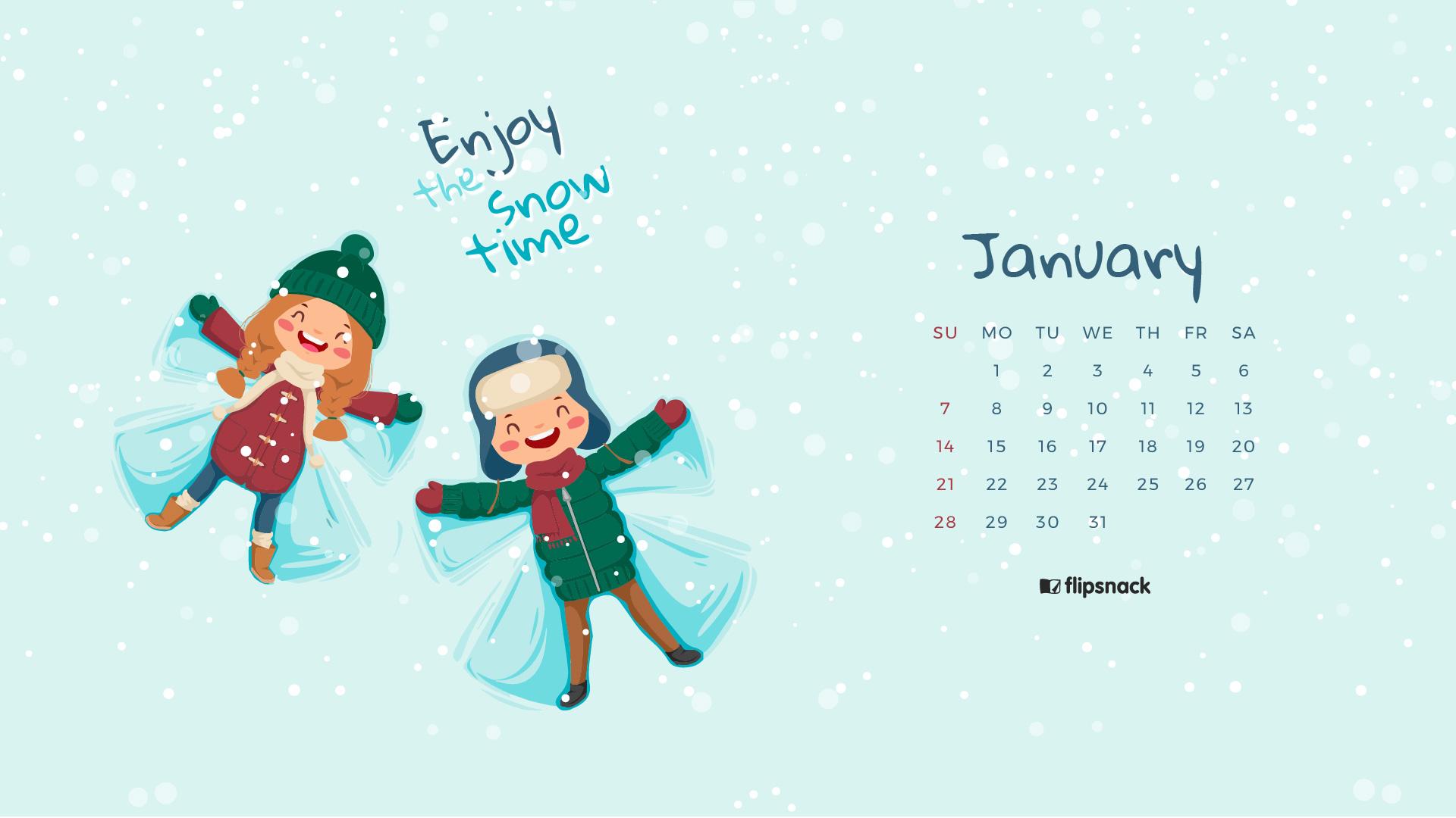 desktop calendar background january 2018   Janwebfactorco 1920x1080