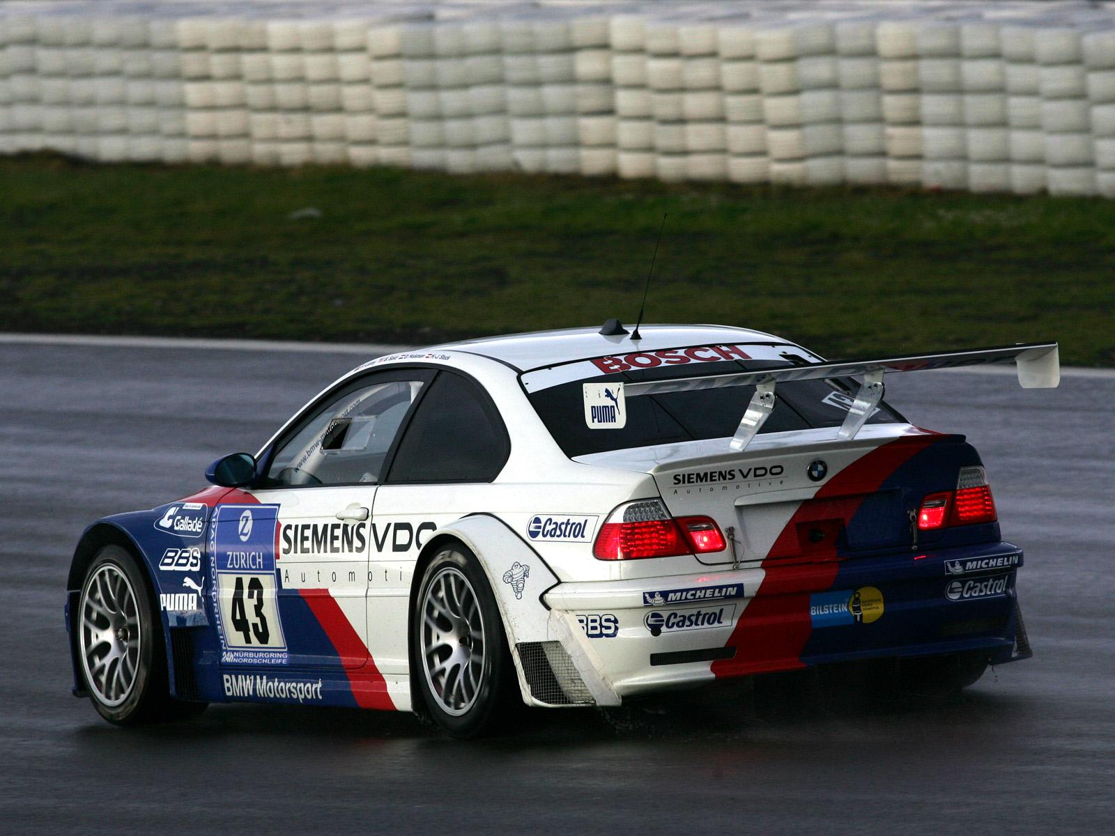 Free Download 2001 Bmw M3 Gtr E46 Race Racing M 3 G Wallpaper