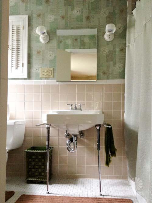 Walmart Wallpaper Borders Bathroom Wallpapersafari