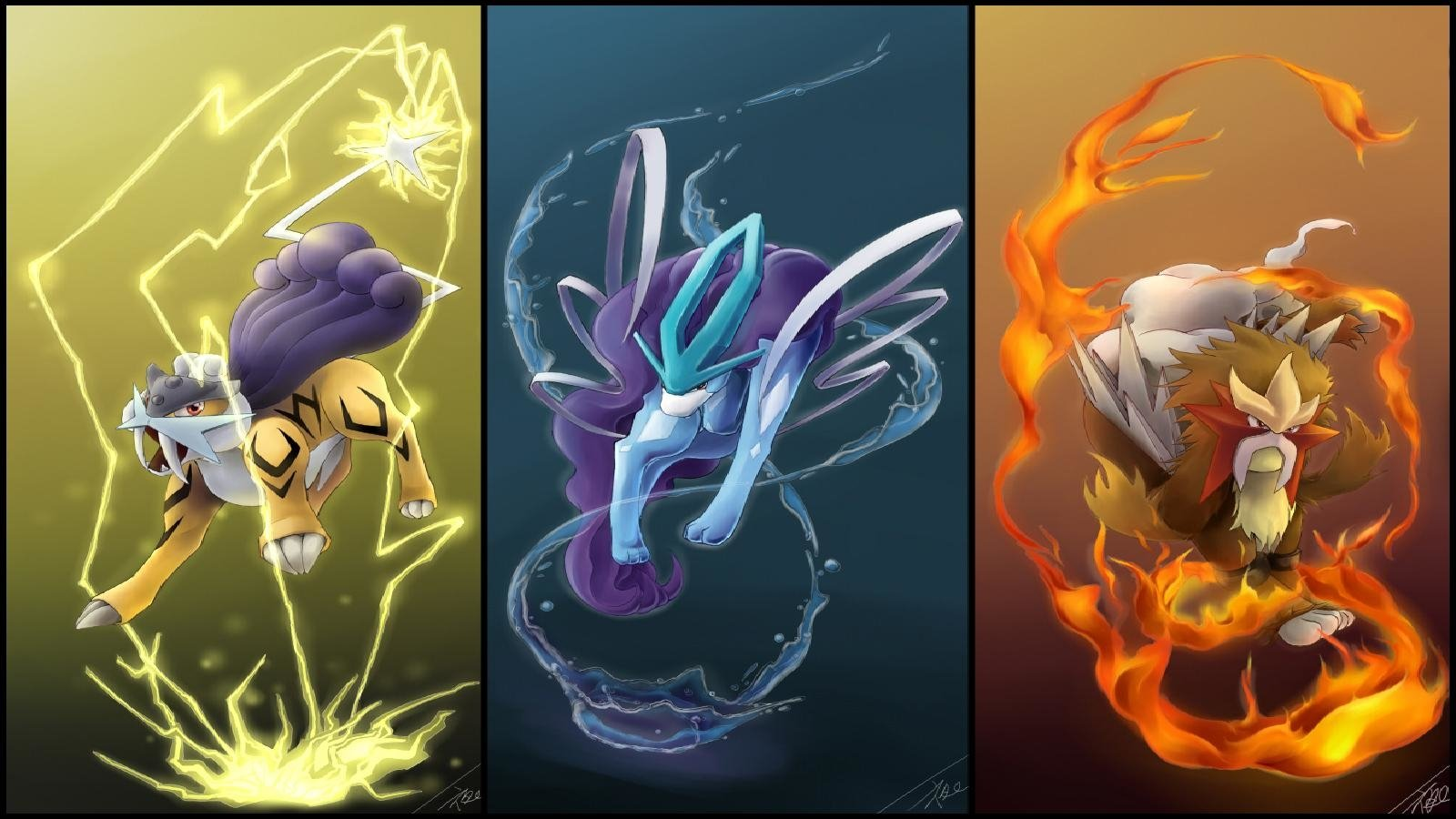 98 Legendary Pokmon HD Wallpapers Background Images   Wallpaper 1600x900