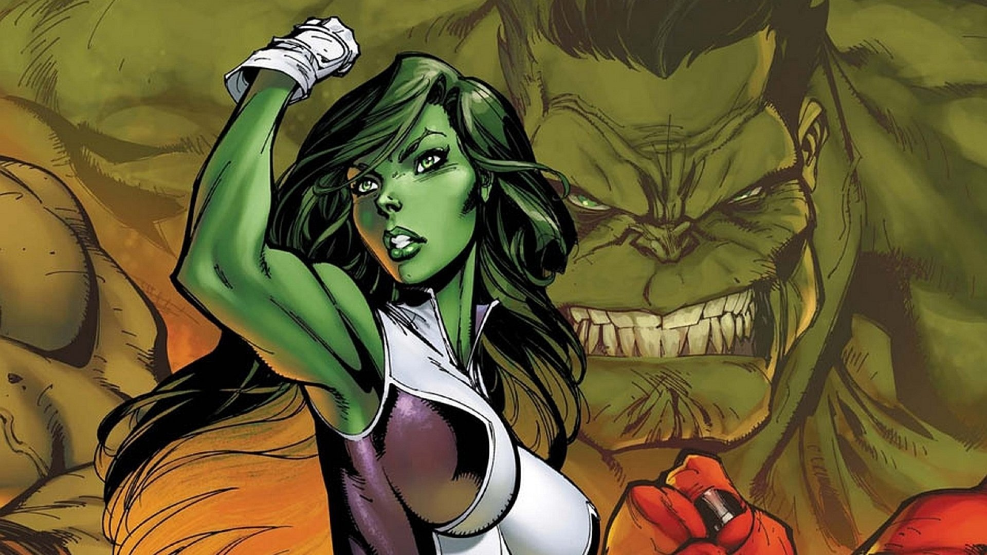 SHE HULK marvel comics superhero hulk she wallpaper 1920x1080