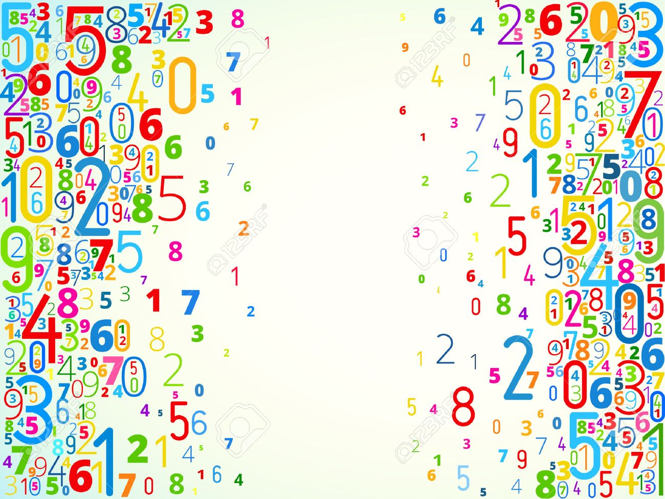Vector Number Background Royalty Cliparts Vectors And Stock 1300x975