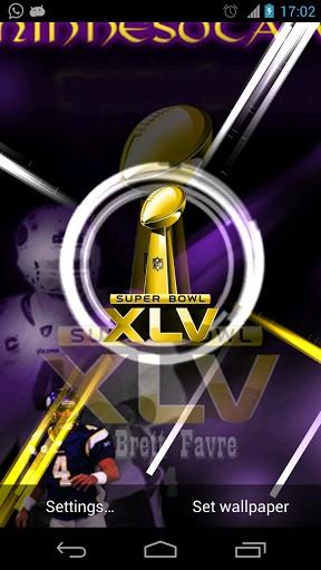 Phone Minnesota Vikings Live Wallpaper Is An Interactive App 288x512