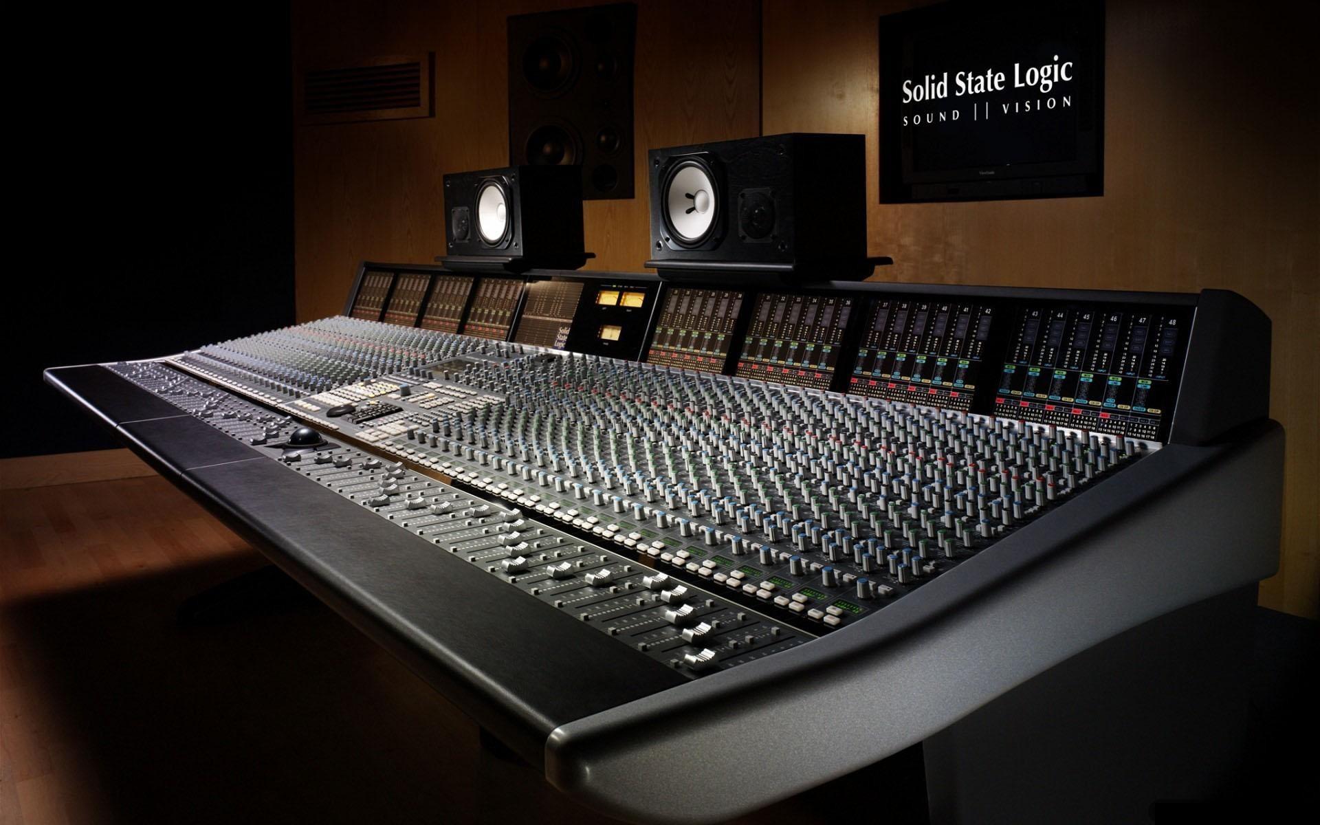 Music Studio Wallpaper 1920x1200 Music Studio Machines 1920x1200