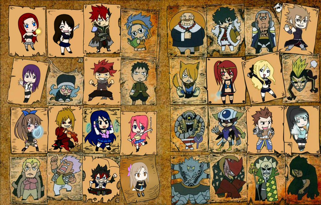 Open Collab] Chibi Fairy Tail by UndeadSplash 1024x656