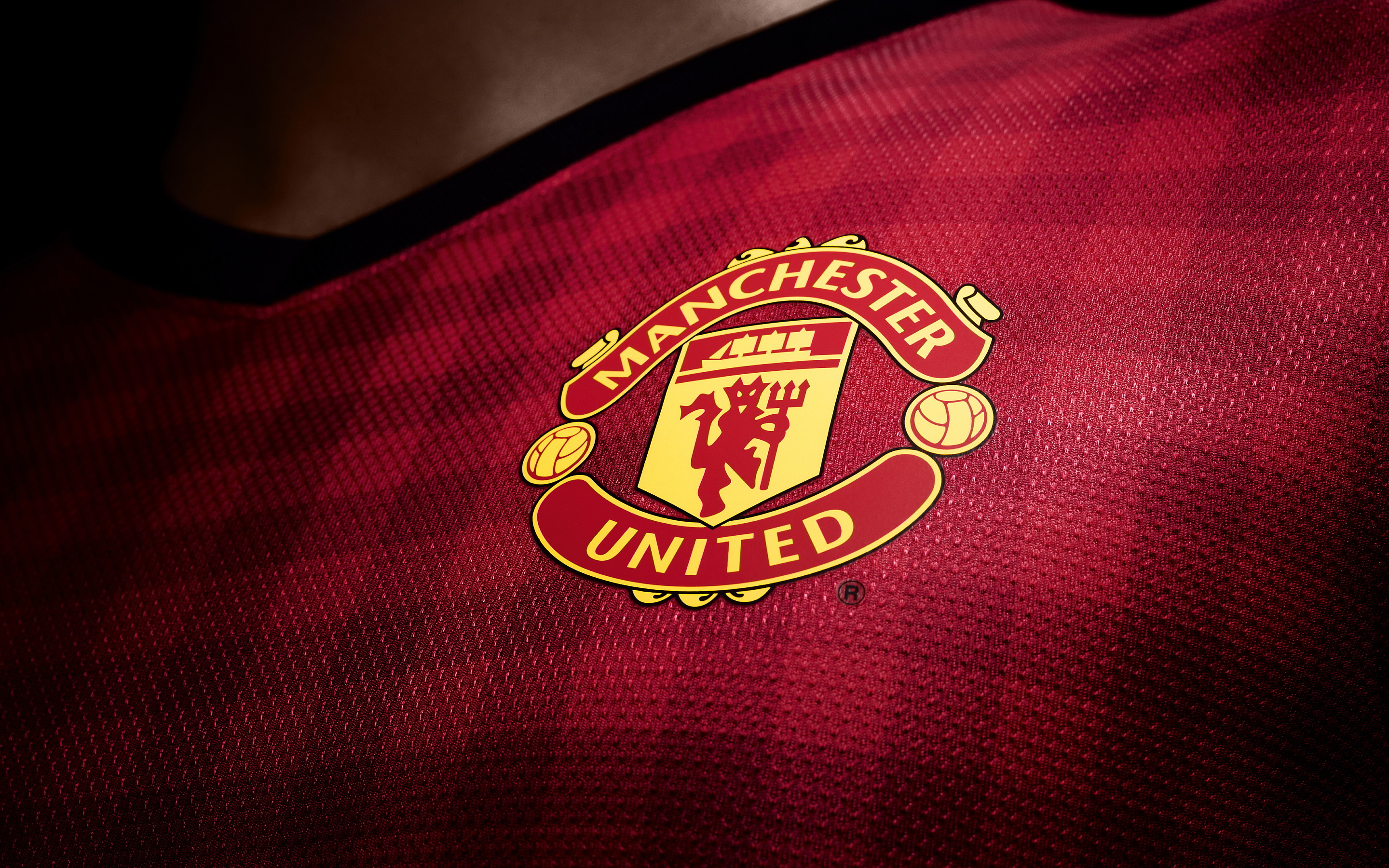 manchester united logo Manchester United Wallpaper HD 2013 32 2880x1800