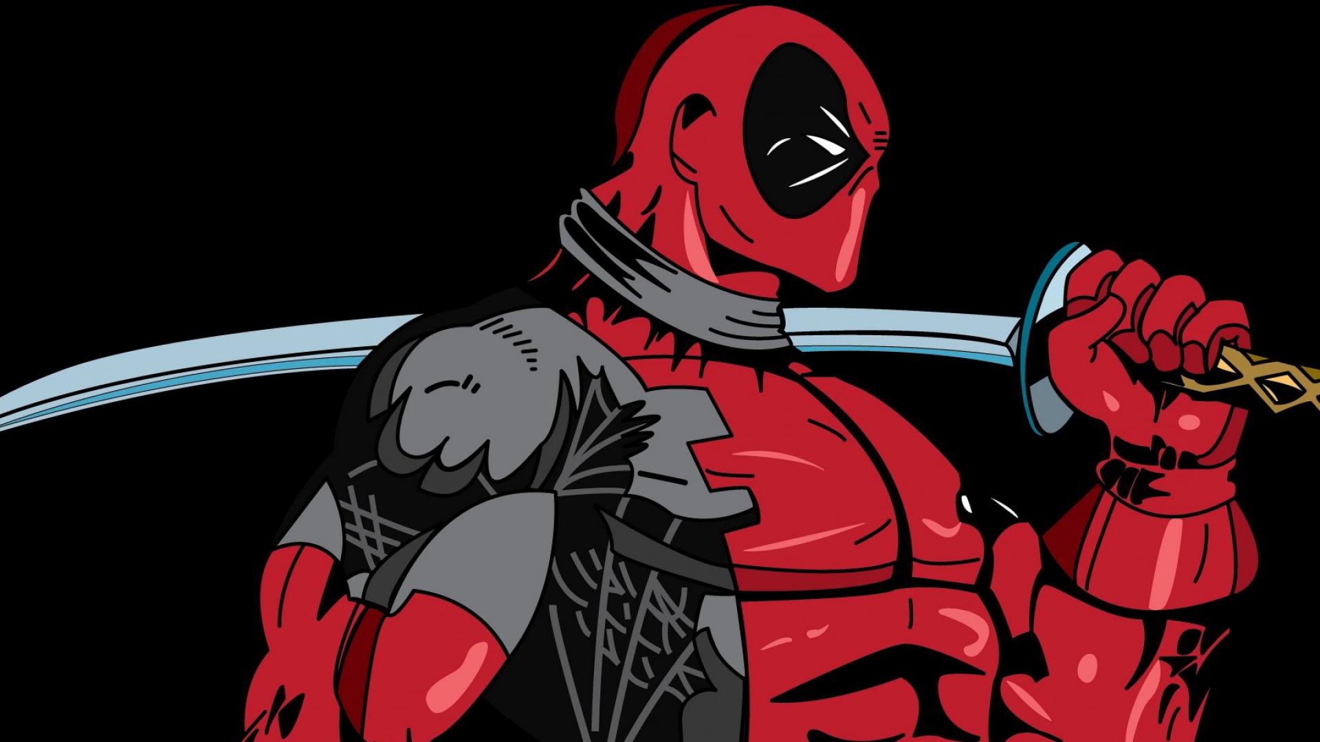 Deadpool Marvel Art Superhero X Marvel Comics X Men 1920x1080