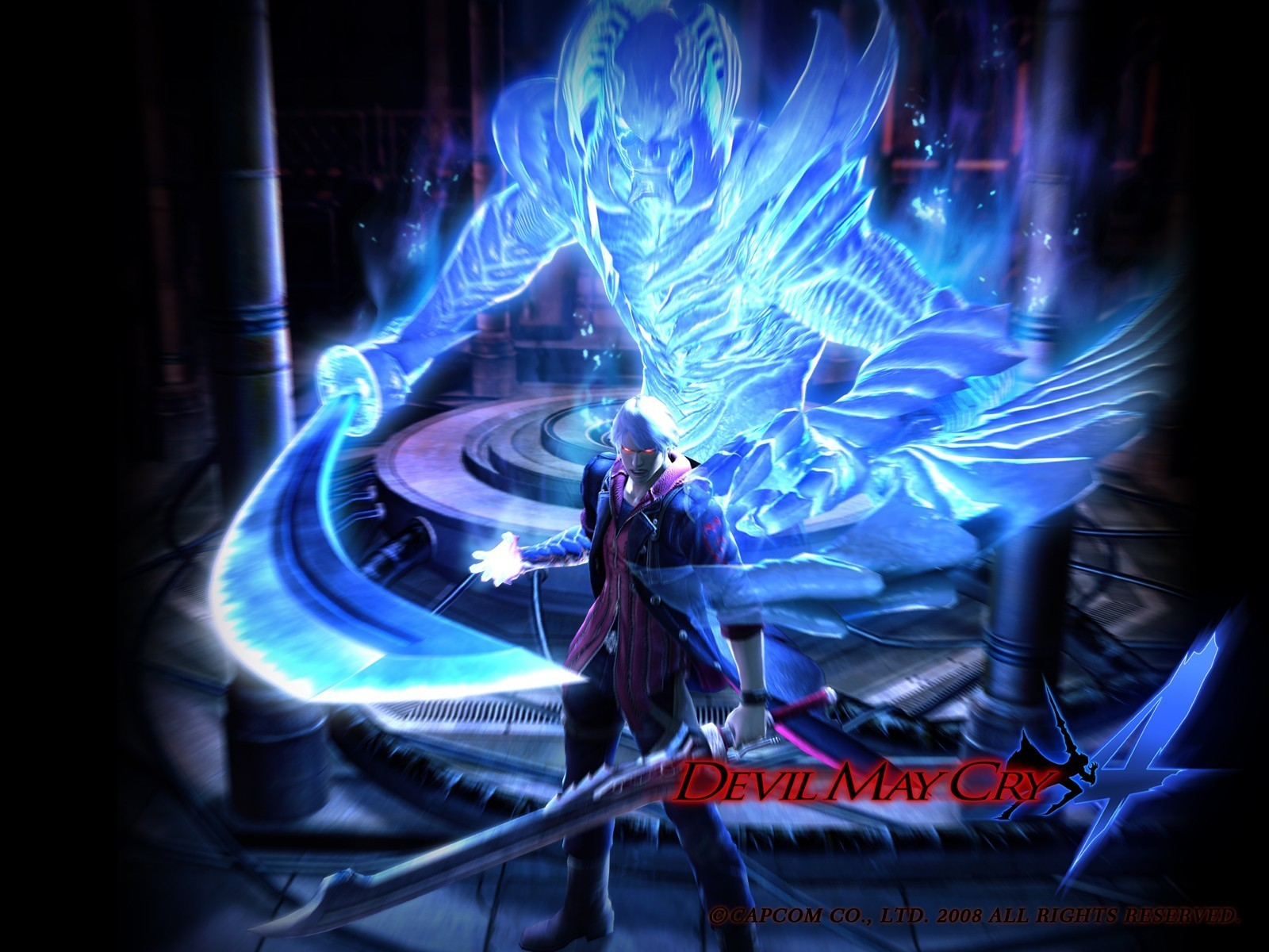 Devil May Cry 4 images Devil May Cry 4 wallpaper photos 10480378 1600x1200