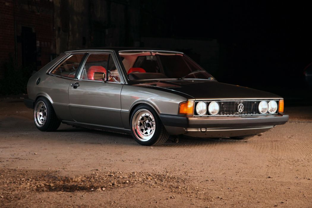 Volkswagen scirocco mk1 cars coupe germany wallpaper 5616x3744 1050x700