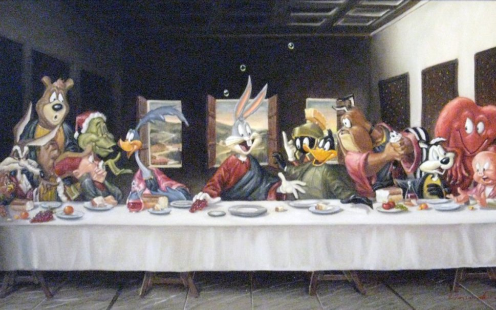 last supper wallpaper   wwwhigh definition wallpapercom 969x606