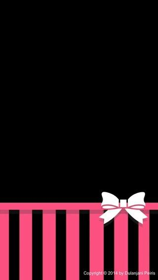 Black and pink Wallpaper iphone Pinterest 320x568