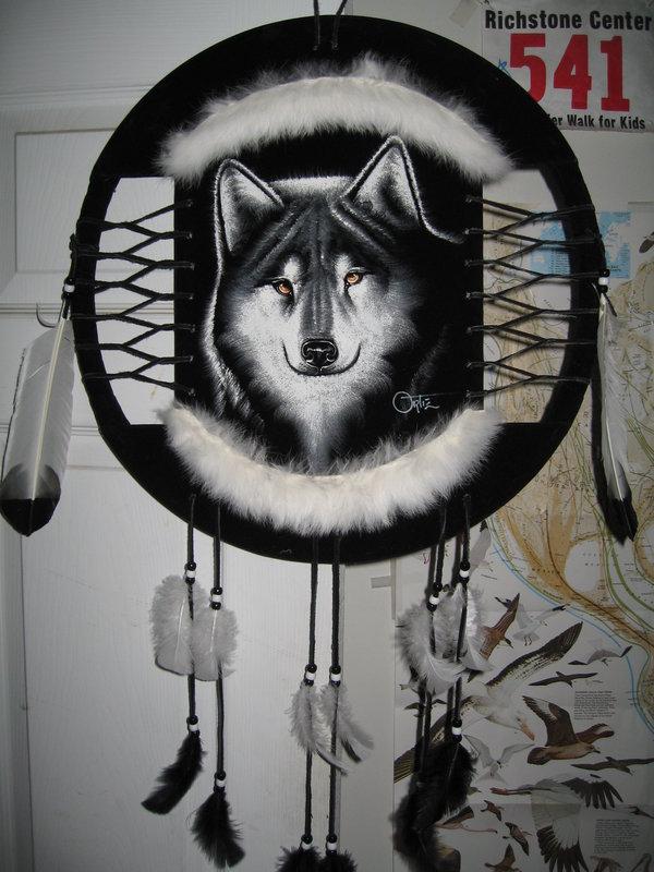 [37+] Wolf Dreamcatcher Wallpaper on WallpaperSafari