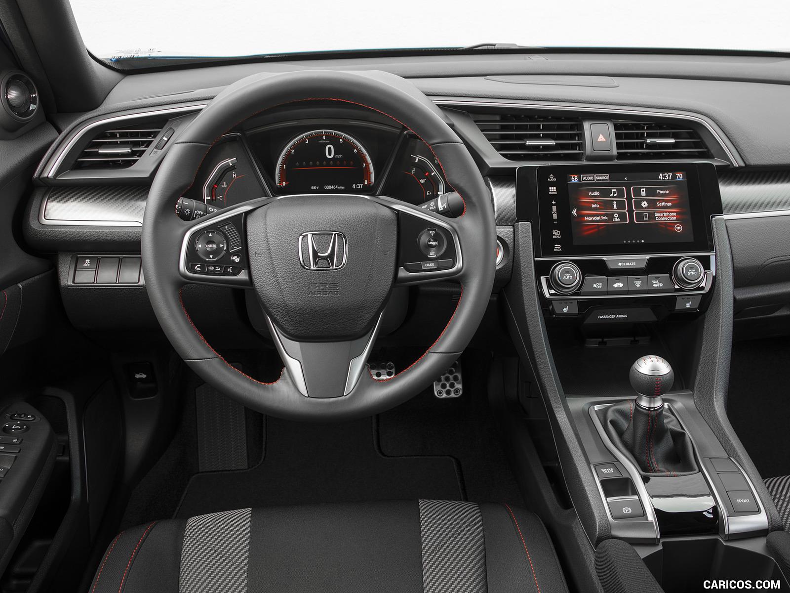 2017 Honda Civic Si Sedan   Interior HD Wallpaper 62 1600x1200