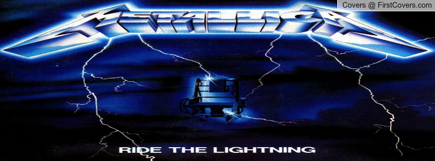 Ride The Lightning MetallicA cover 850x315