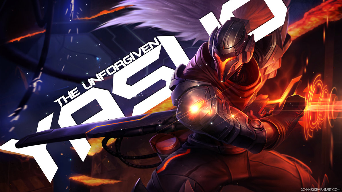 Yasuo The Unforgiven League Of Legends Wallpaper By Soinnes On 1191x670