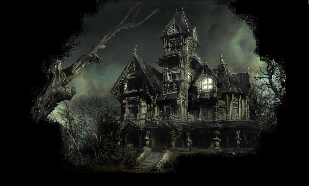 High Resolution Scary Haunted House Wallpapers for Desktop 1023x618