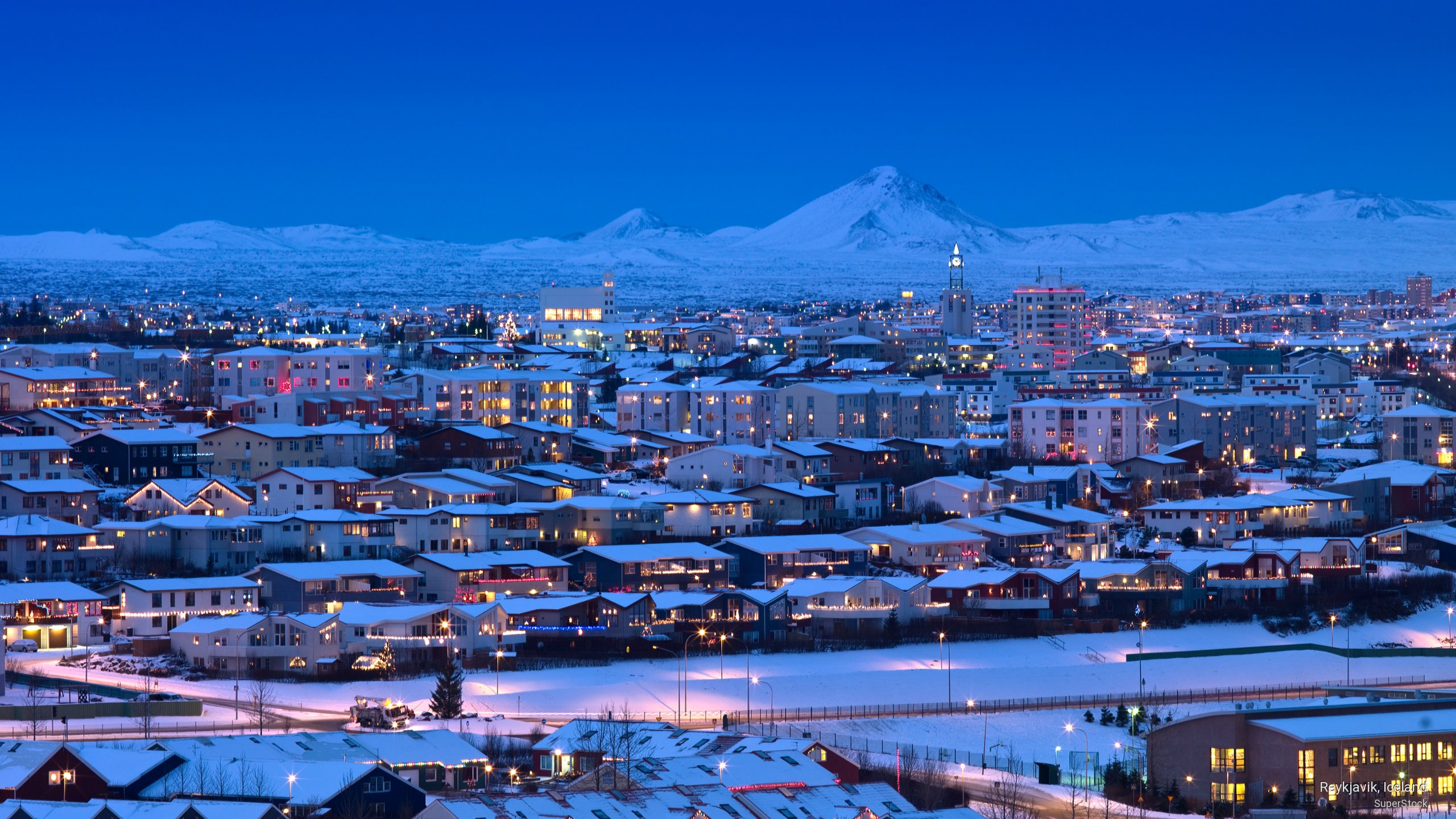 reykjavik 3840x2160