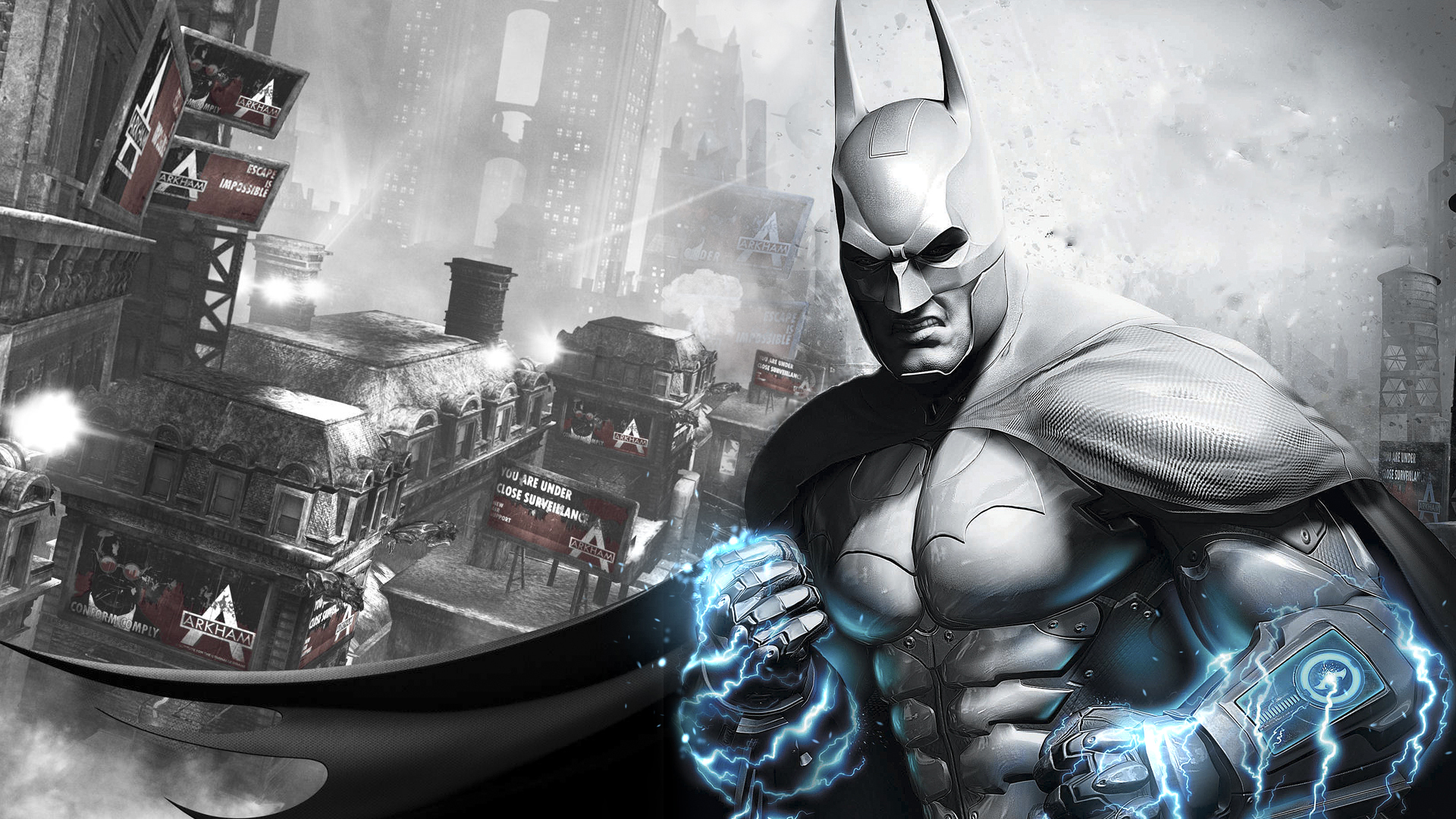 Explore the Collection Batman Video Games Batman Arkham City 292619 1920x1080