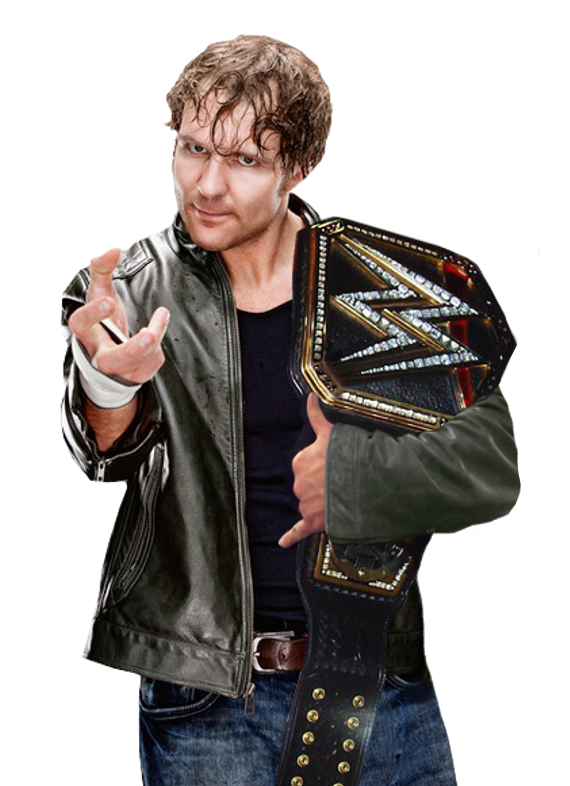 Dean Ambrose WWE World Heavyweight Champion by Nibble T 570x786