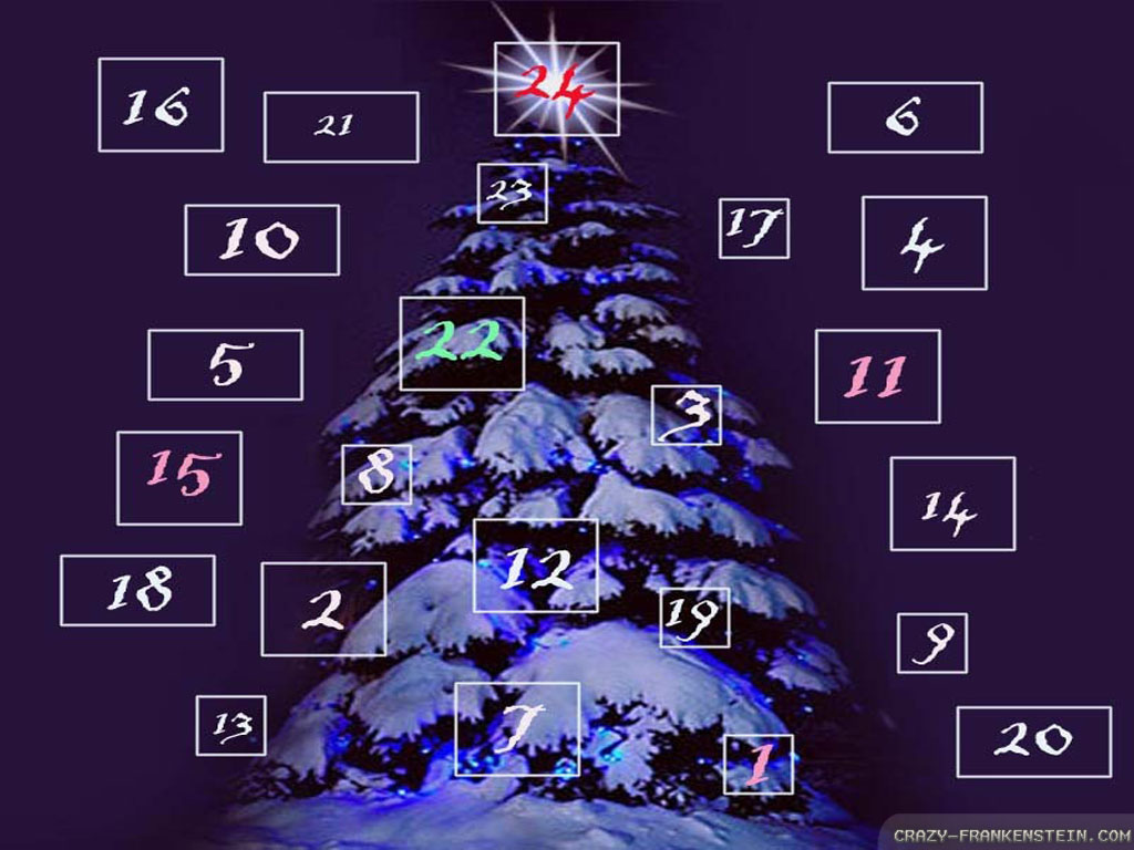 Wallpaper Calendar Christmas Countdown wallpapers 1024x768