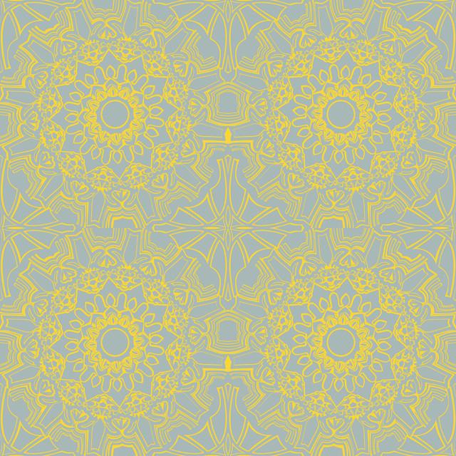 MEDALLION Self Adhesive Removable Wallpaper Sunrise 205x11 Yds 640x640