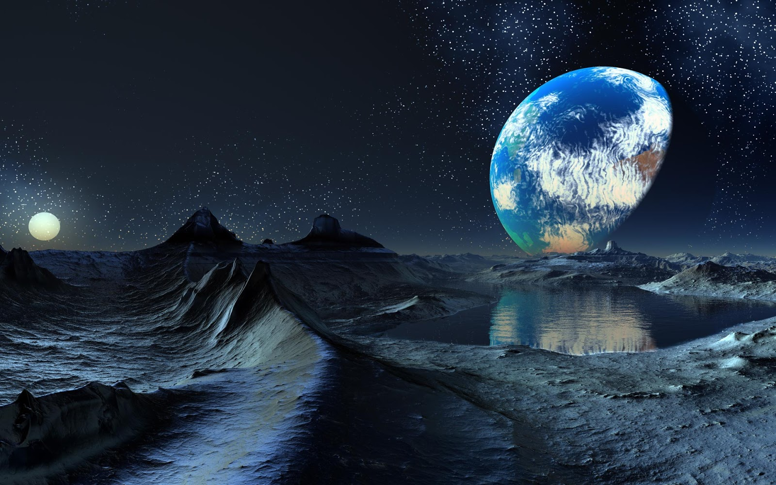 Planets Wallpapers Backgrounds 1600x1000