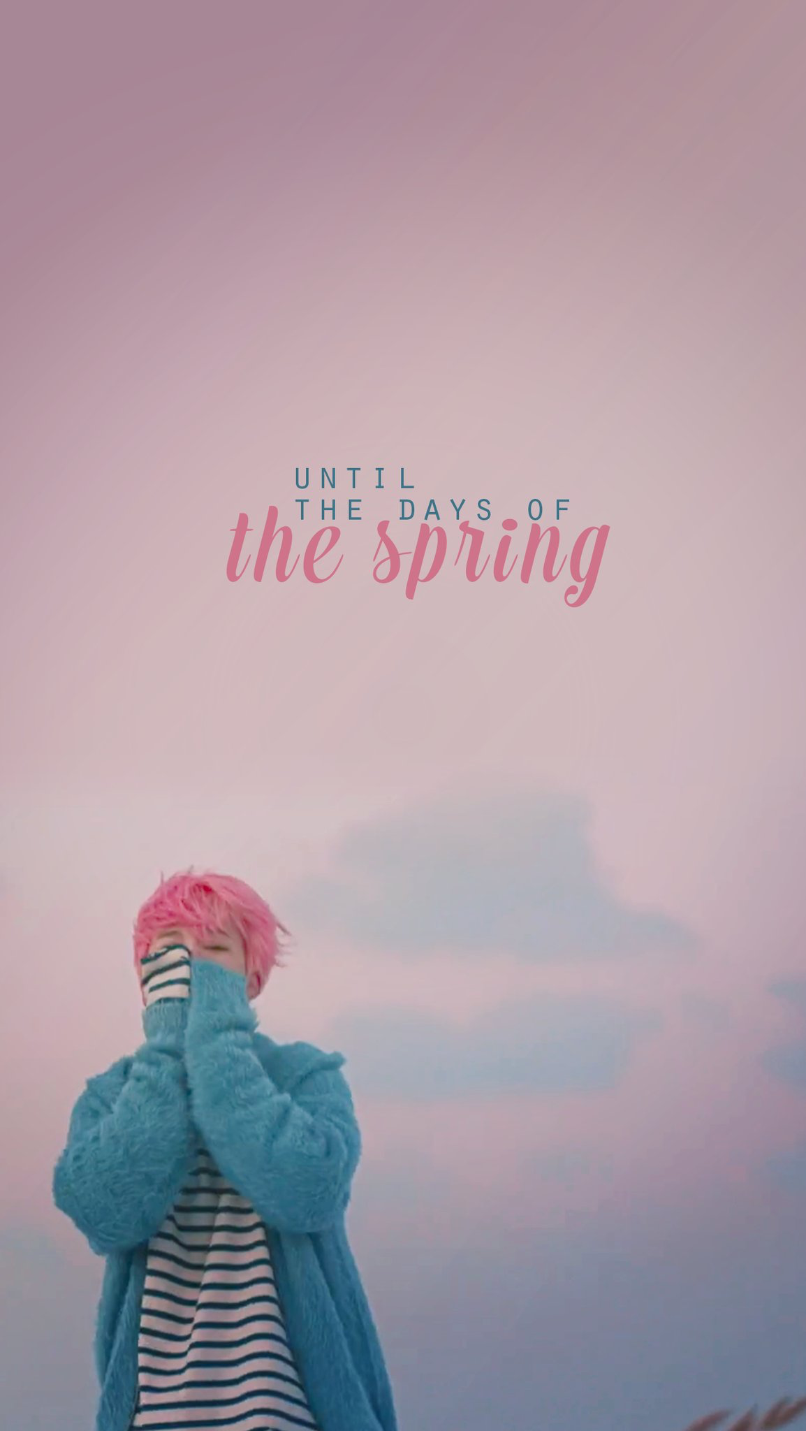 BTS BTS Wallpapers Jimin Spring Day You Never Walk 1154x2048