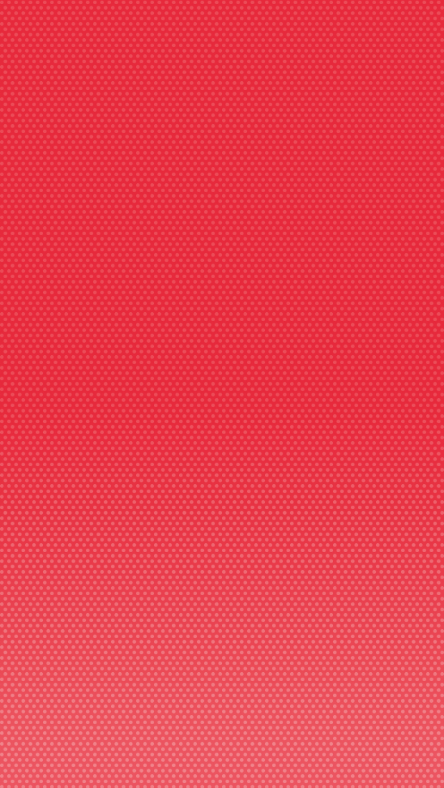 Red Dots iPhone 5 Wallpaper 640x1136
