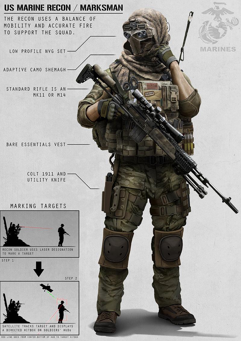 Recon Marine by AlexJJessup 800x1131