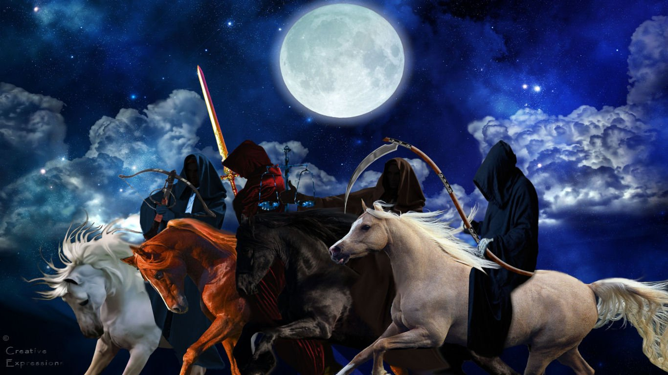 the four horsemen of the apocalypsejpg 1366x768