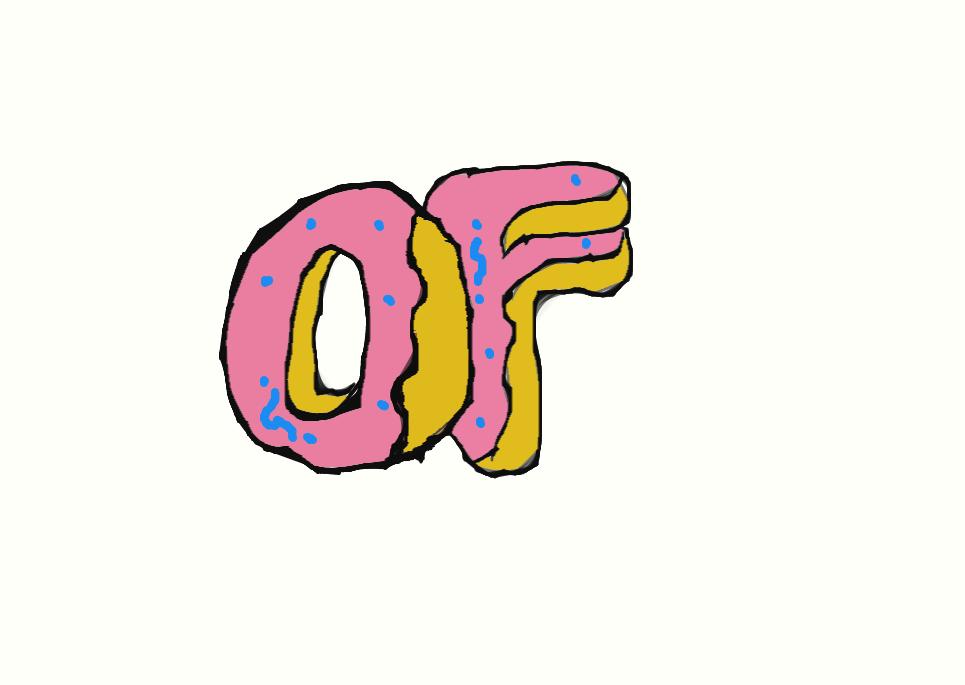 OF Odd Future Donut by WolfGangTurtl3 965x685