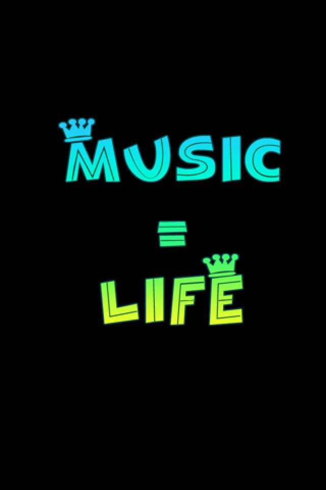 Music Is My Life Wallpaper For Mobile