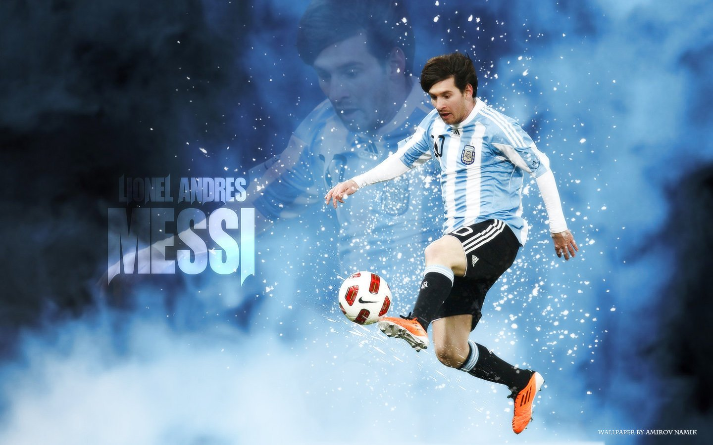 Argentina Lionel Messi Soccer Politics The Politics of Football 1440x900