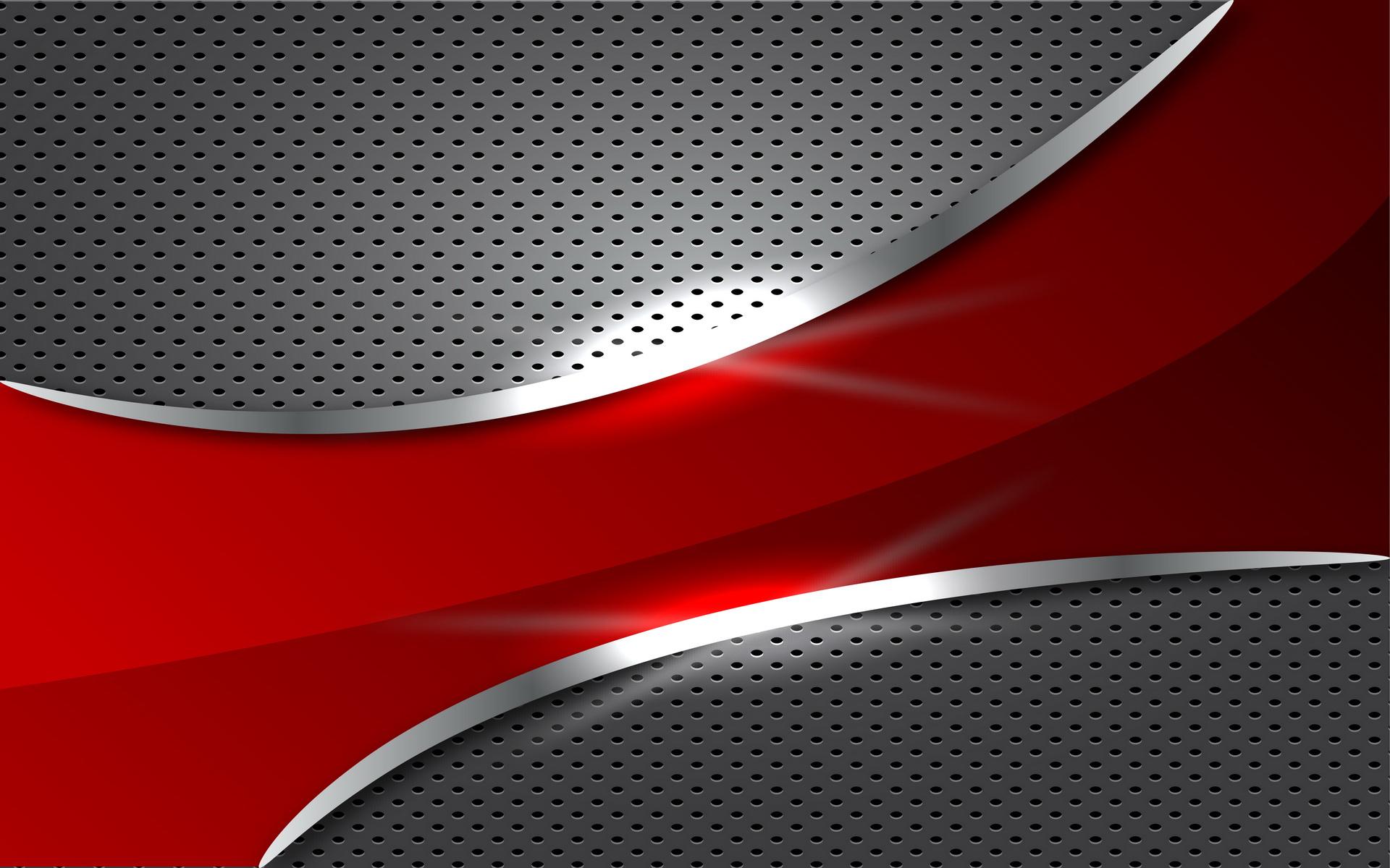 Red metal wallpaper