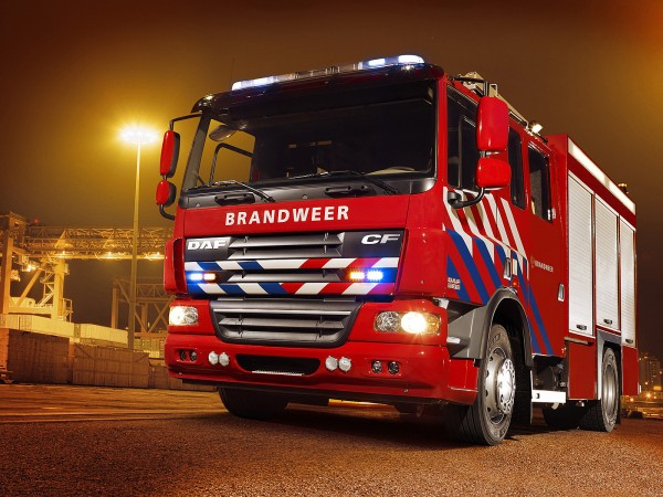 Wallpaper Red DAF Firefighter Truck   Wallpapers HD Download 600x450