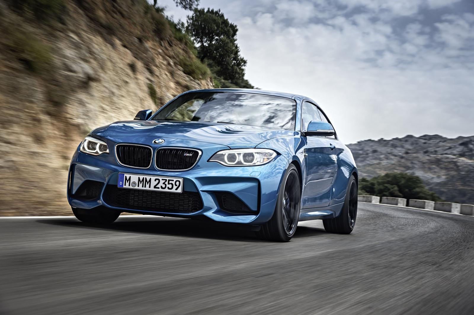 2016 BMW M2 Coupe Background Wallpaper HD Car Wallpapers 1600x1065