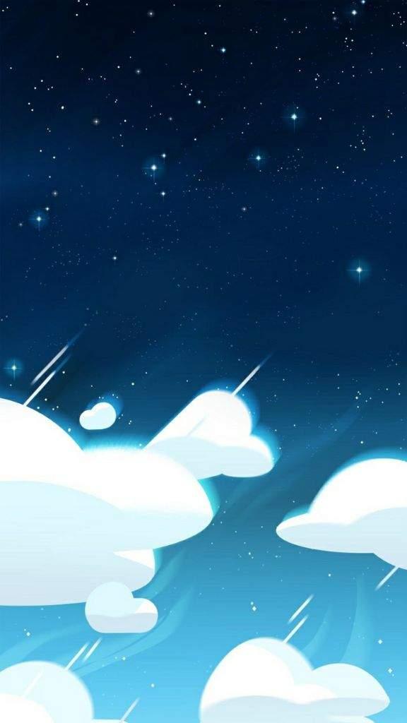 SU Sky Backgrounds Steven Universe Amino 576x1024