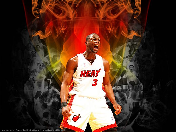 2008 09 Season Miami Heat Wallpapers   Dwyane Wade Wallpaper 15 700x525