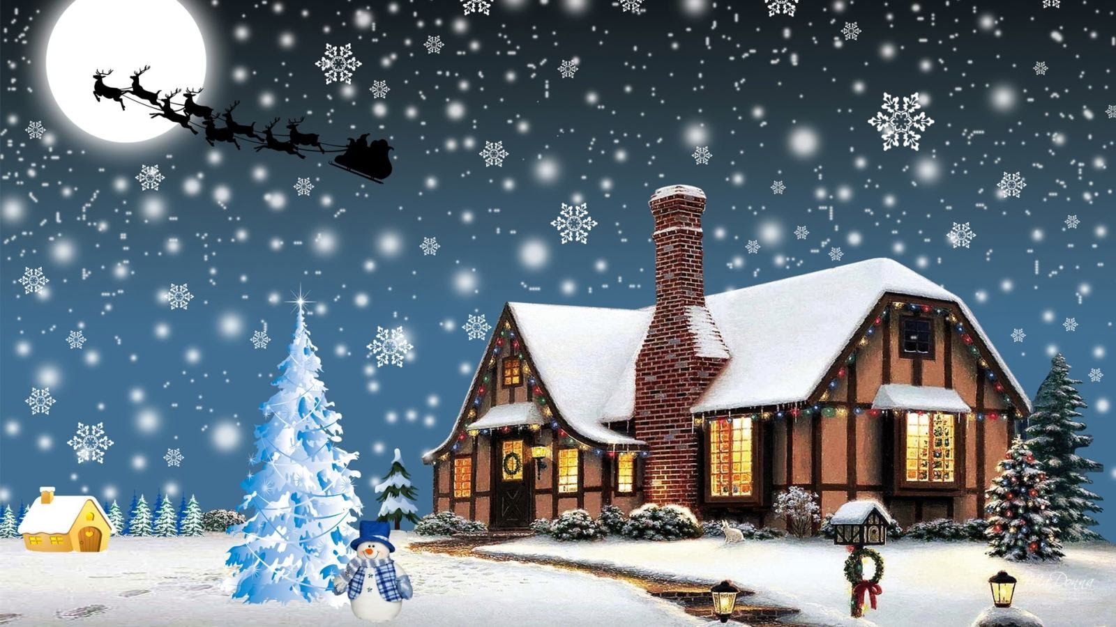 Christmas Wallpapers download hd 1600x900
